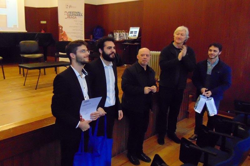 Arsis Duo vence II Concurso de Música de Câmara com Guitarra