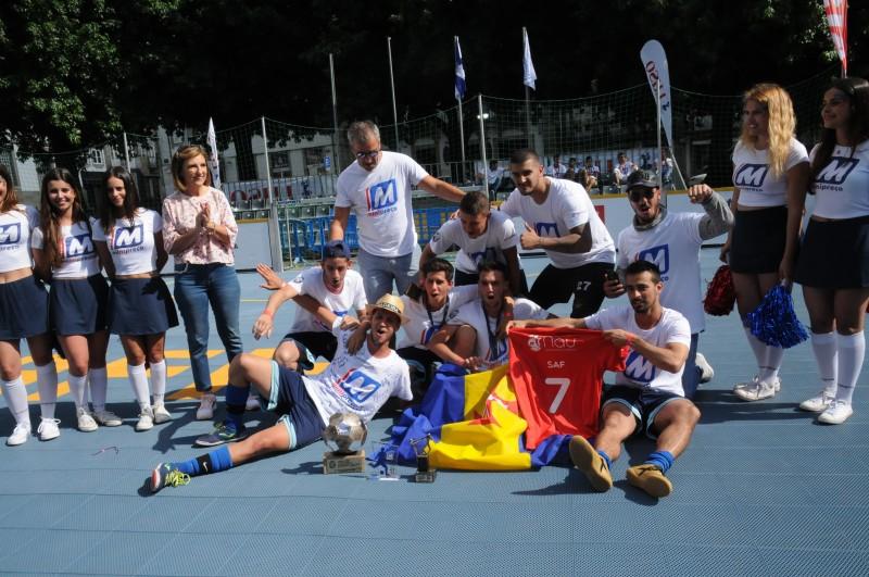 Madeirenses festejaram em Braga título de campeões nacionais de futebol de rua