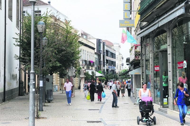 Julho e Agosto invertem ritmo  descendente no comércio local de Braga