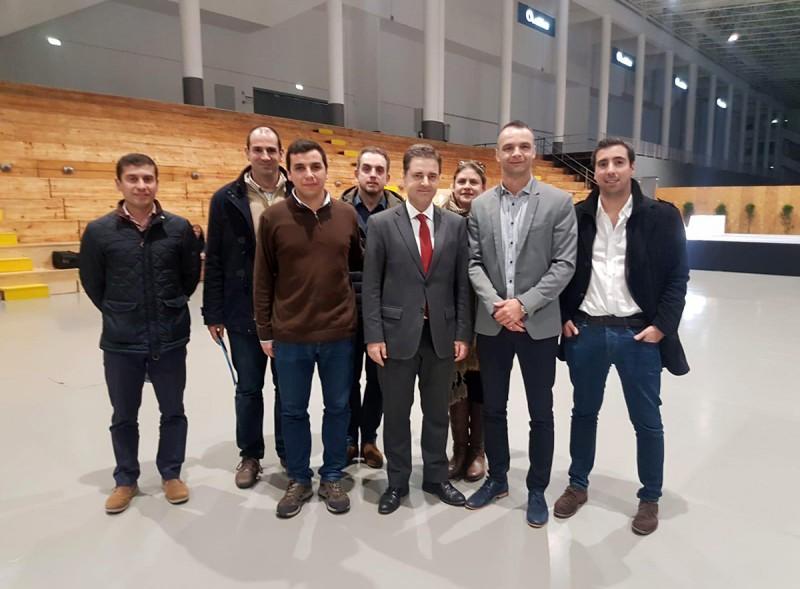 Europeu Universitário de Futsal 2019: EUSA faz visita de inspeção