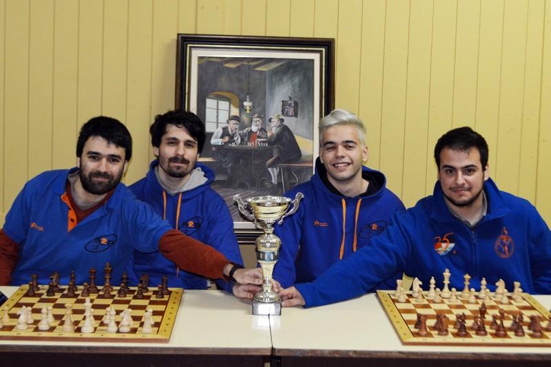 Famalicenses da A2D sagram-se heptacampeões distritais de xadrez