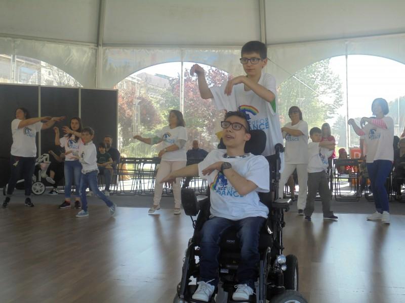 Superar a deficiência através da dança