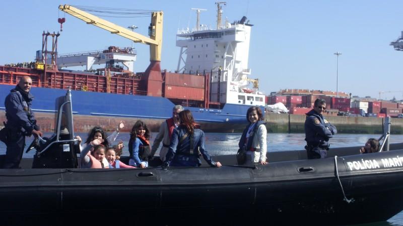 Vila Verde: Alunos de Cervães no Porto de Leixões