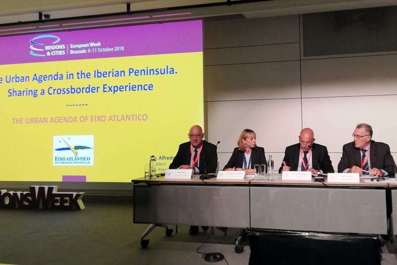 Eixo Atlântico apresenta em Bruxelas a primeira agenda urbana transfronteiriça