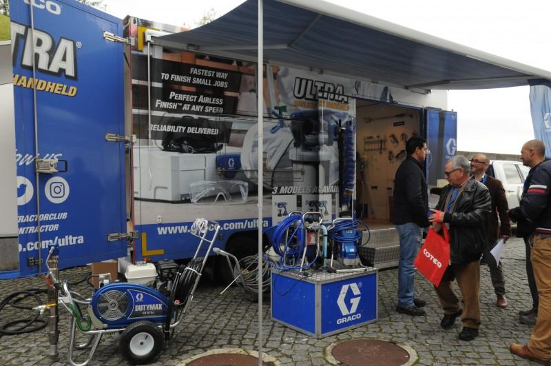Evento COTEQ apresenta tecnologia  de ponta na pulverização de tinta