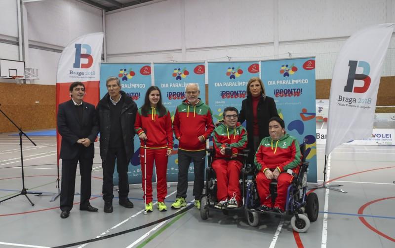 Estudantes de Braga experimentam modalidades de desporto paralímpico