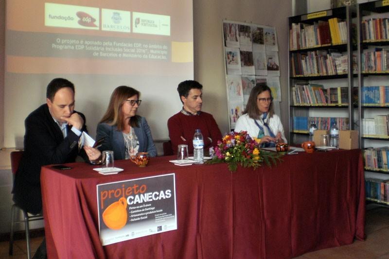 Projecto 'Canecas' ajuda à integração  de alunos com necessidades especiais