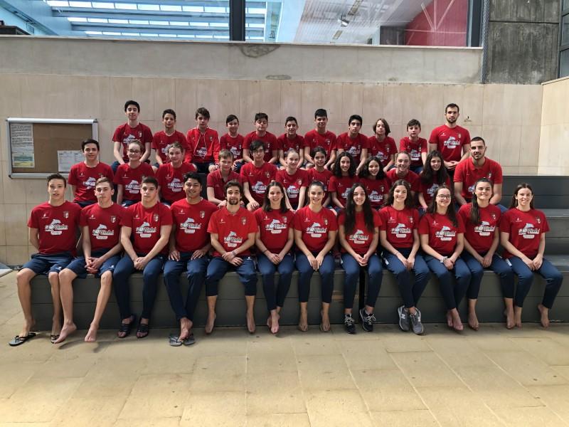 Nadadores do SC Braga  hegemónicos no 'regional'