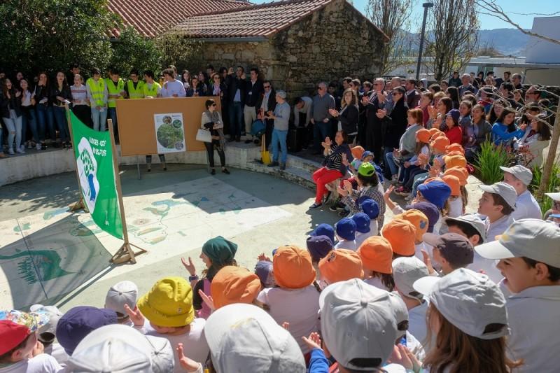 Multinacional francesa assinala Dia da Árvore em Viana do Castelo