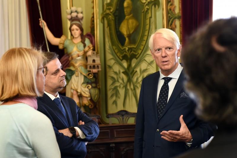 Embaixador da Dinamarca conheceu ecossistema económico e empresarial de Braga