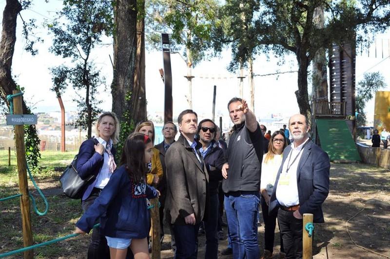 """Novo parque espera ajudar Picoto a ser """"referência"""" para a cidade"""
