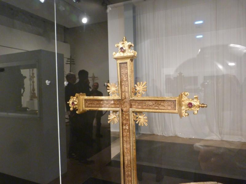 Palestra sobre a Cruz Relicário de Oliveira