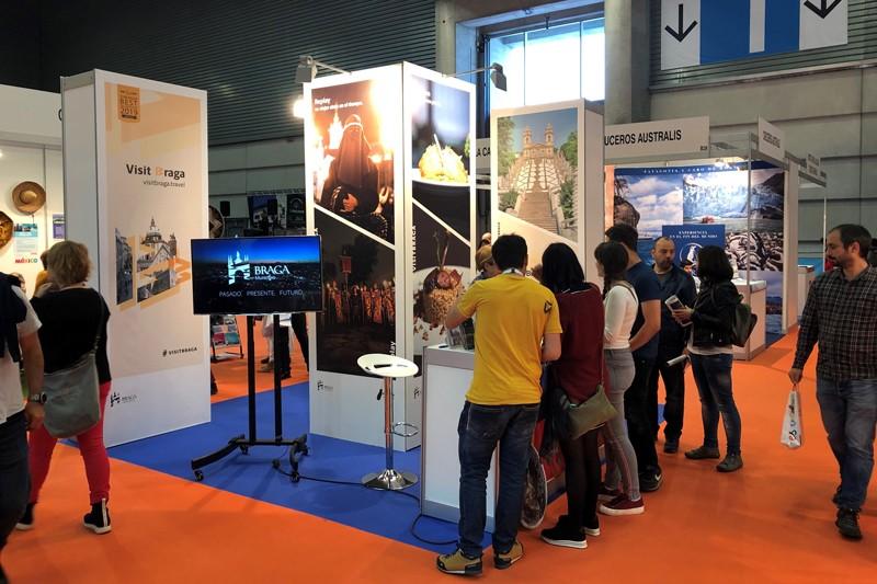 Braga esteve com stand próprio na Expovacaciones de Bilbao