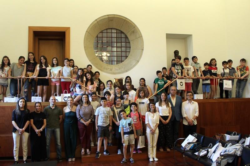 Intercâmbio do Eixo Atlântico traz a Guimarães alunos da Corunha