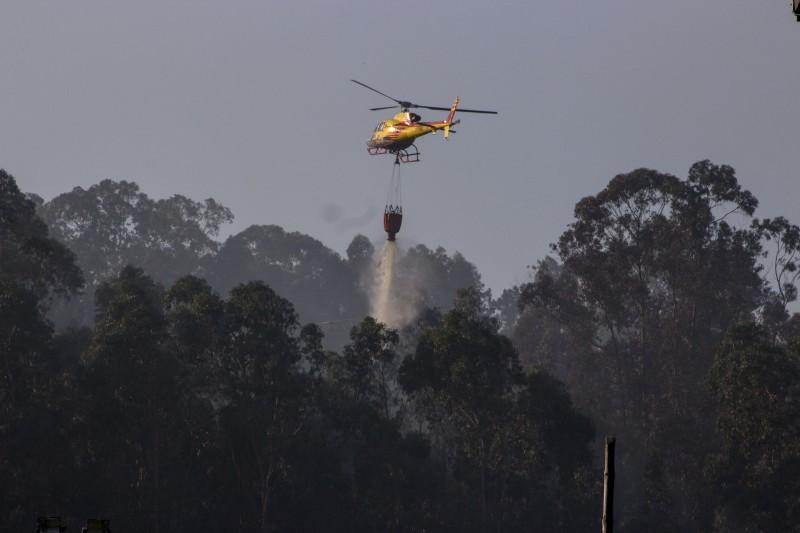 Cinco equipas reforçam dispositivo de combate a incêndios
