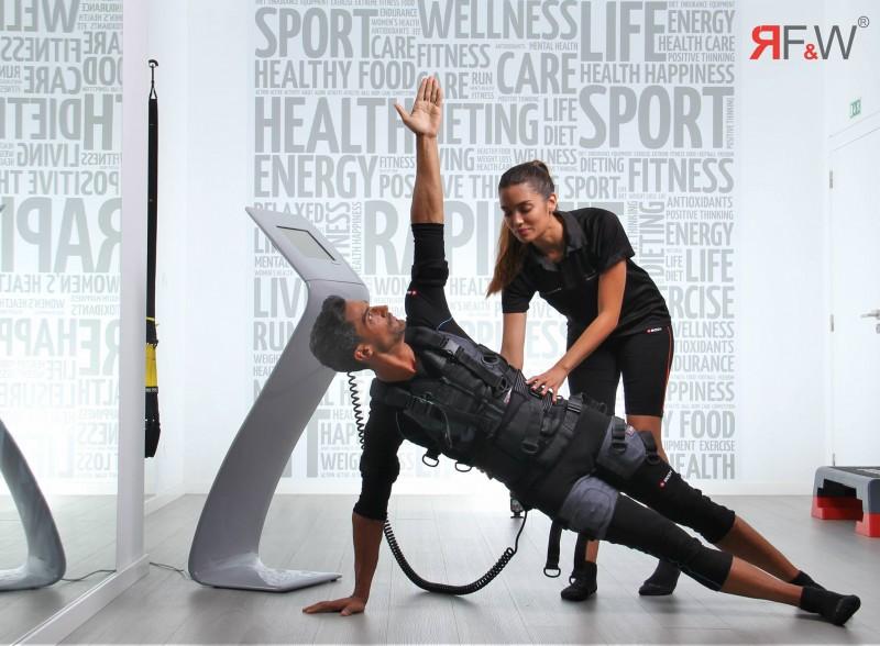 Rapid Fit & Well oferece espaço  de exercício físico e reabilitação