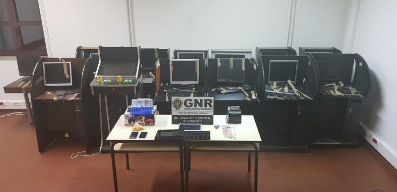 Jogo ilegal levou a GNR a 61 estabelecimentos