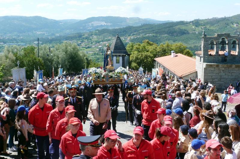 Fé levou multidão ao Monte do Pilar
