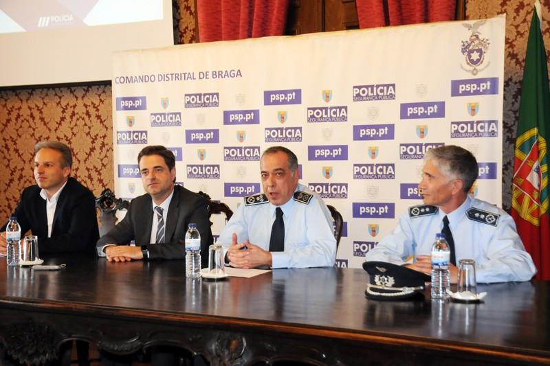 PSP vai ao encontro da comunidade na festa dos 142 anos do Comando Distrital de Braga