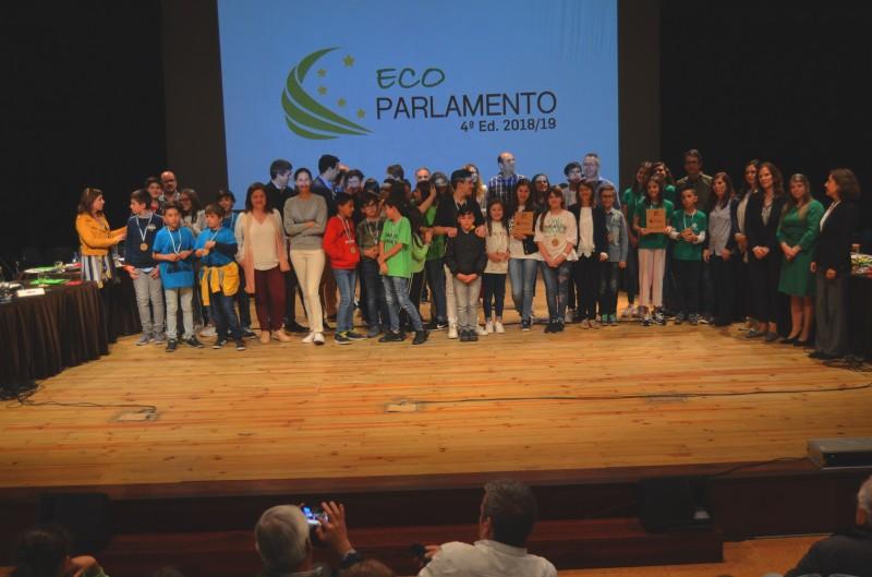 Agrupamento Fernando Távora em primeiro lugar no Eco Parlamento