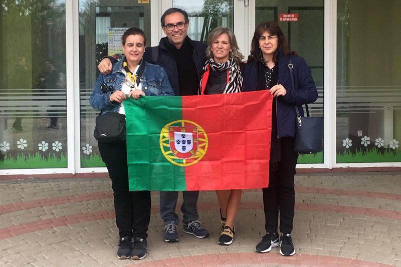 Erasmus+ levou comitiva da Sá de Miranda à Letónia