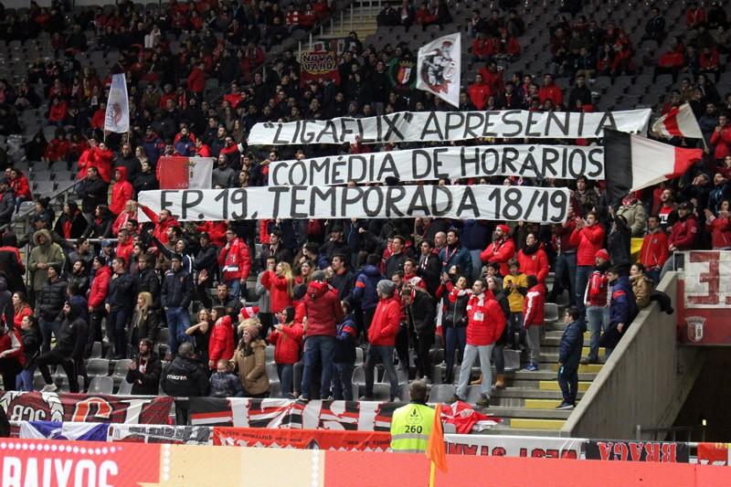 SC Braga fez aprovar medidas para proteger adeptos portugueses