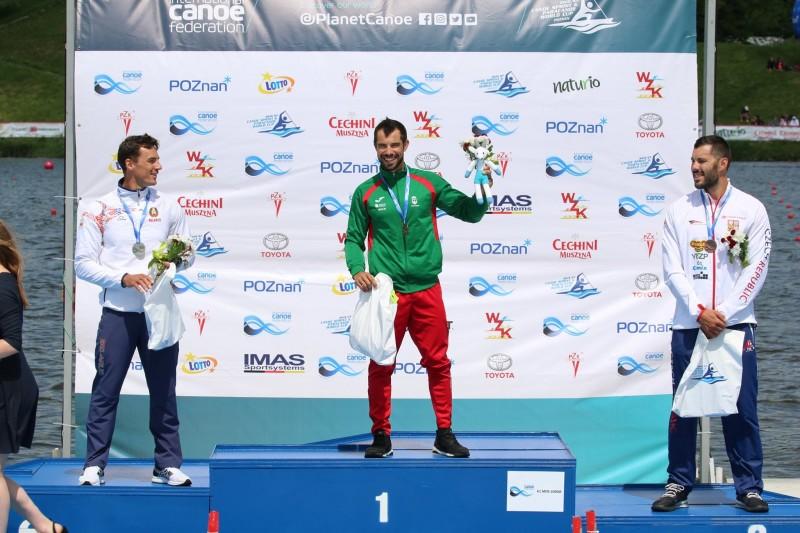 Fernando Pimenta conquista duplo ouro