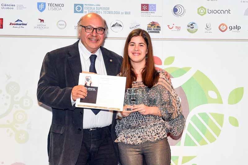Aluna de Braga vence concurso da Ordem dos Biólogos
