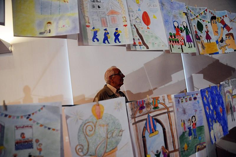 Ilustrações do Concurso de Desenhos das crianças para admirar no Museu Pio XII