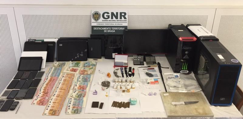 Braga: Operação de combate ao tráfico de droga