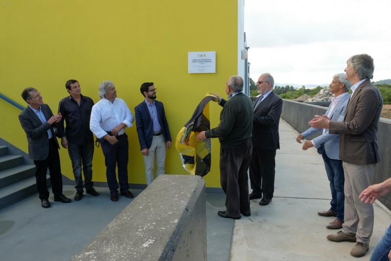 Executivo municipal inaugurou 1ª fase das obras de requalificação do Campo de Jogos Dr. José de Alpuim Sobrinho