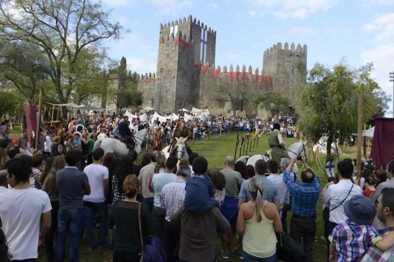 Feira Afonsina atrai centenas de milhares de visitantes a Guimarães