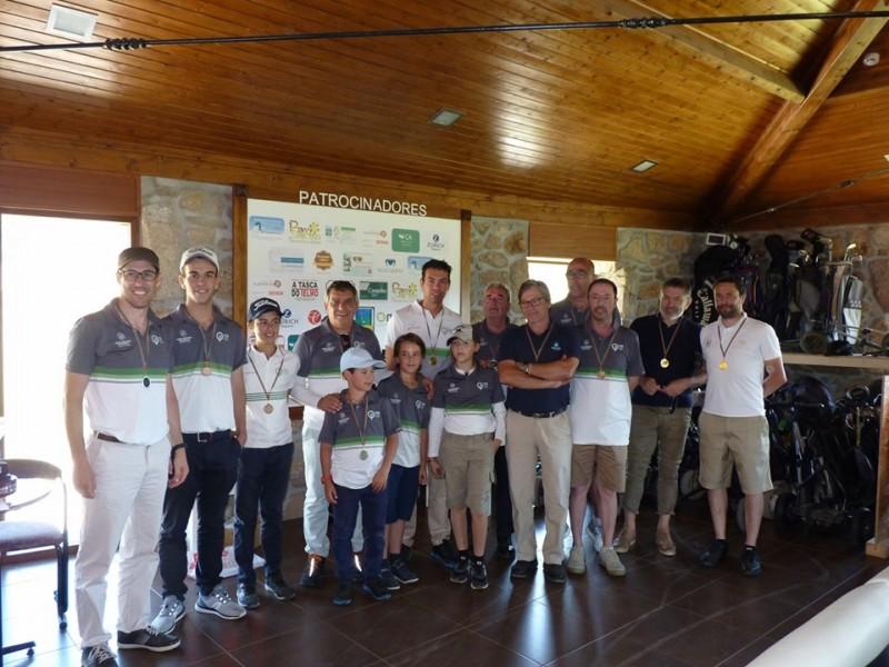 Clube Golfe de Braga forma novos campeões em pares