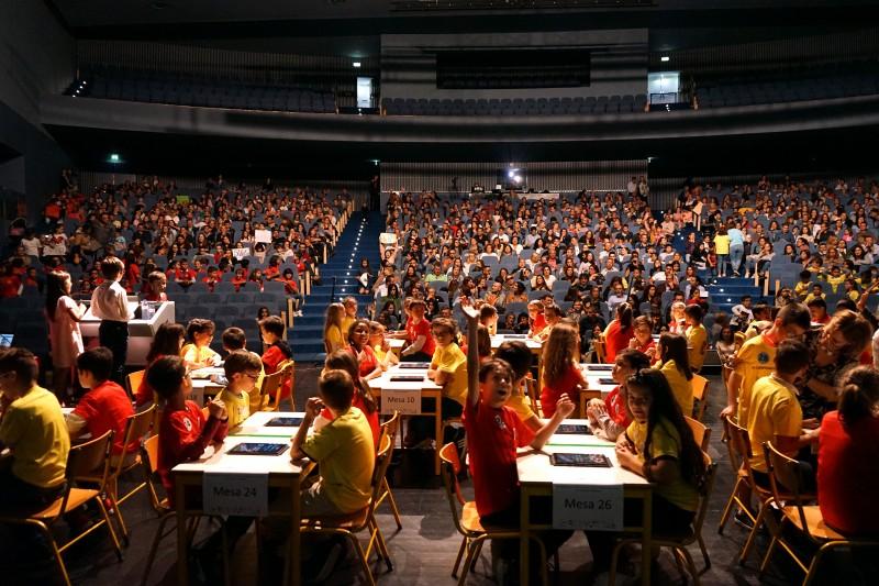 Campeonato Inter-escolar de Cálculo  Mental envolveu cerca de mil alunos