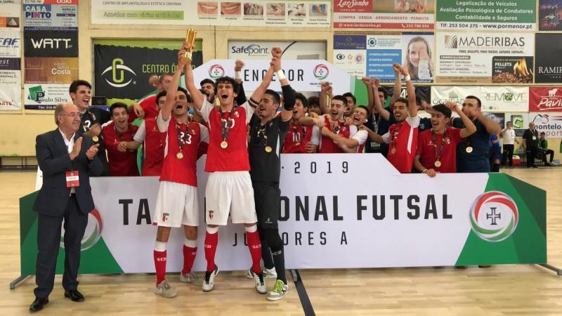SC Braga/AAUM vence Taça Nacional de Juniores
