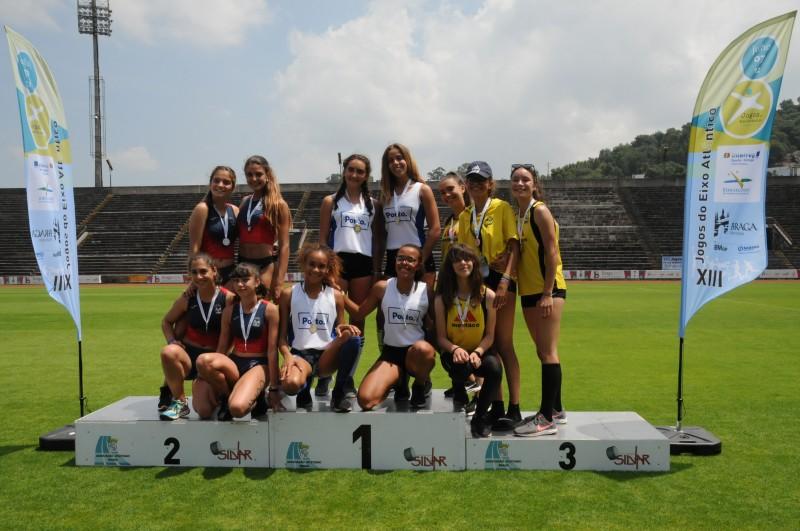 XIII Jogos do Eixo Atlântico: Braga vence masculinos e  Vila Nova de Gaia em femininos