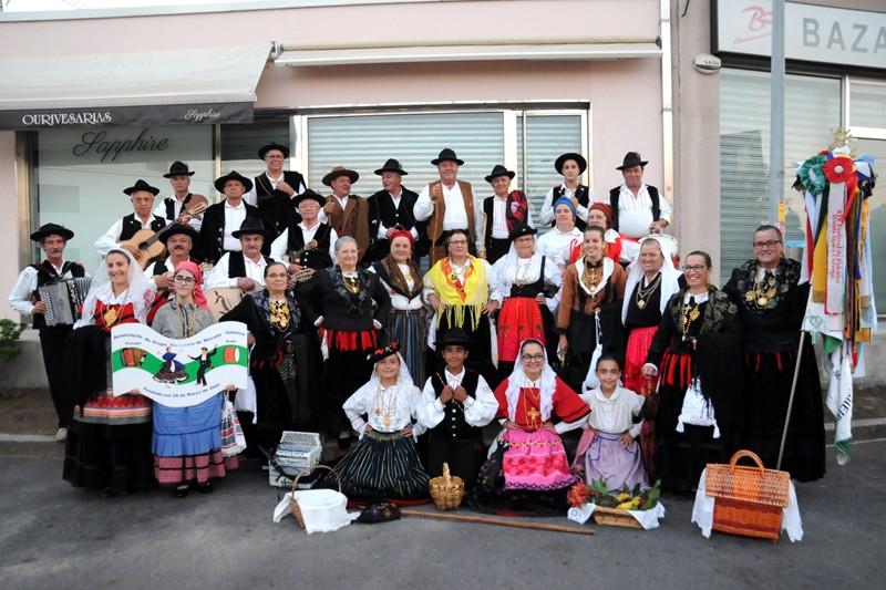 Ritmos folclóricos enchem Campo de Jogos no Festival da Associação Macada Vimieiro