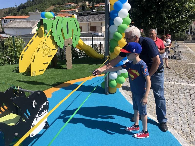 Parque Infantil de Salamonde inaugurado