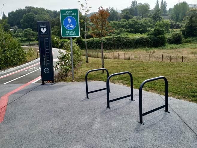 Guimarães com 41 locais com suportes para bicicletas