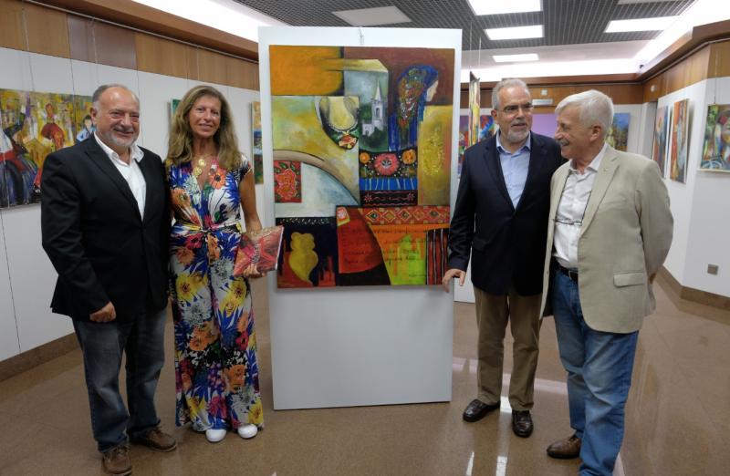 """Câmara Municipal adquire pintura """"Havemos de ir a Viana"""" de Mariana Homem de Mello para expor no Museu do Traje"""