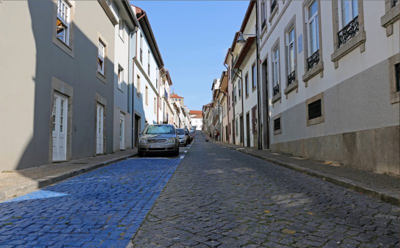 Município de Braga reordenou estacionamento na Rua de São Geraldo