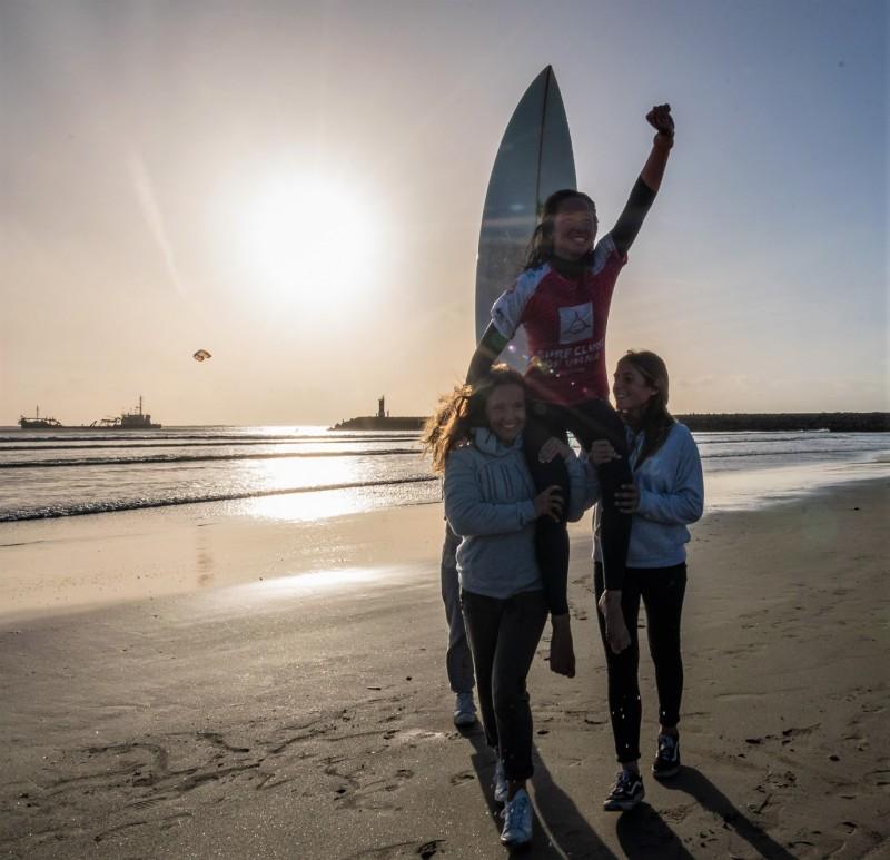 Raquel Otero vai disputar lugares cimeiros na Finalíssima do Surf Esperanças