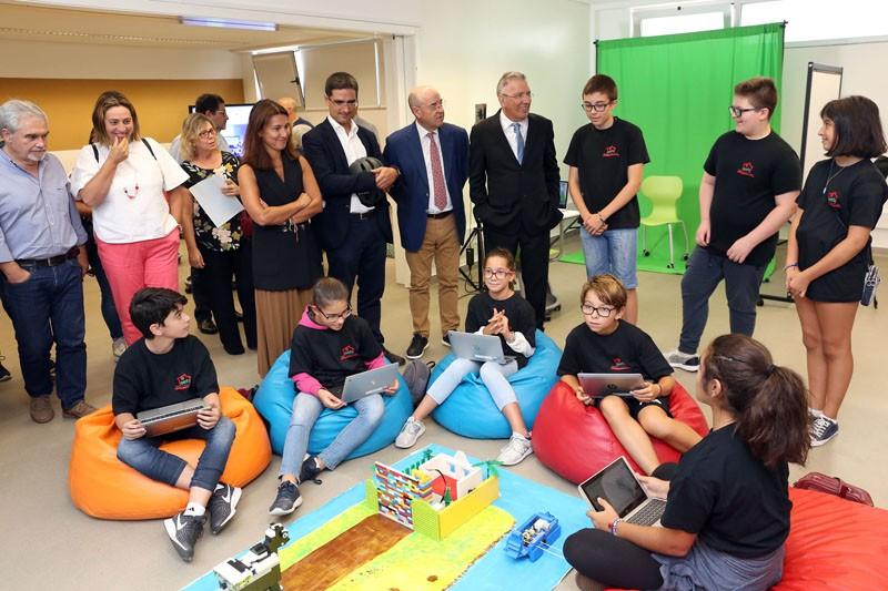 Agrupamento Francisco Sanches inaugura novo 'Estúdio' para aprendizagens inovadoras