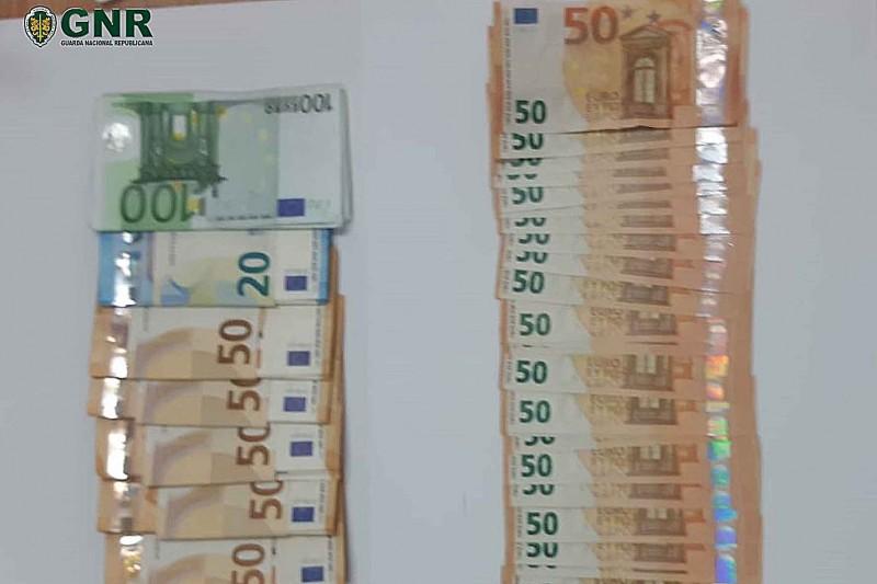 Jovem detido em Cabeceiras de Basto com 39 notas falsas de 50 euros