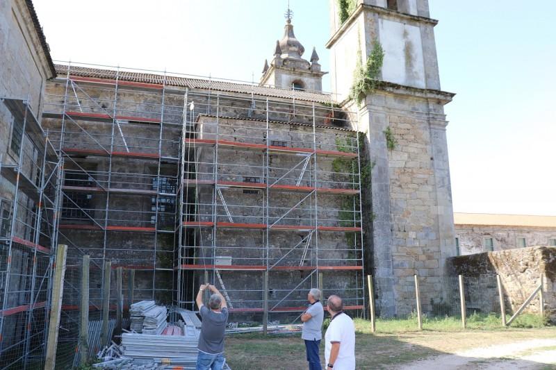 Município de Amares acompanha obras no Mosteiro de Rendufe
