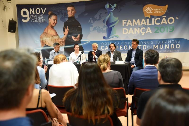 Campeões do Mundo e Campeões Nacionais em danças desportivas decidem-se em Famalicão