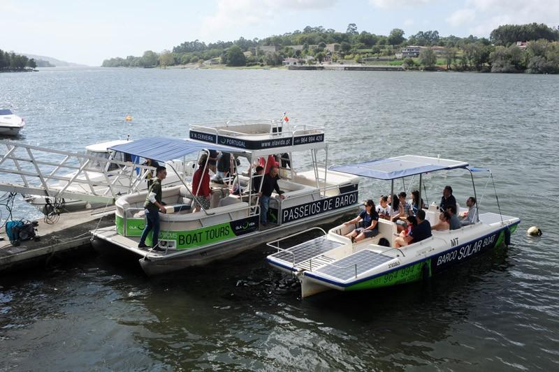 Cerveira convida a navegar nos percursos azuis do Rio Minho