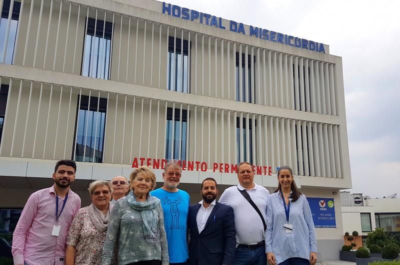 Comitiva de Lohmar - Alemanha promove visita à Santa Casa de Vila Verde