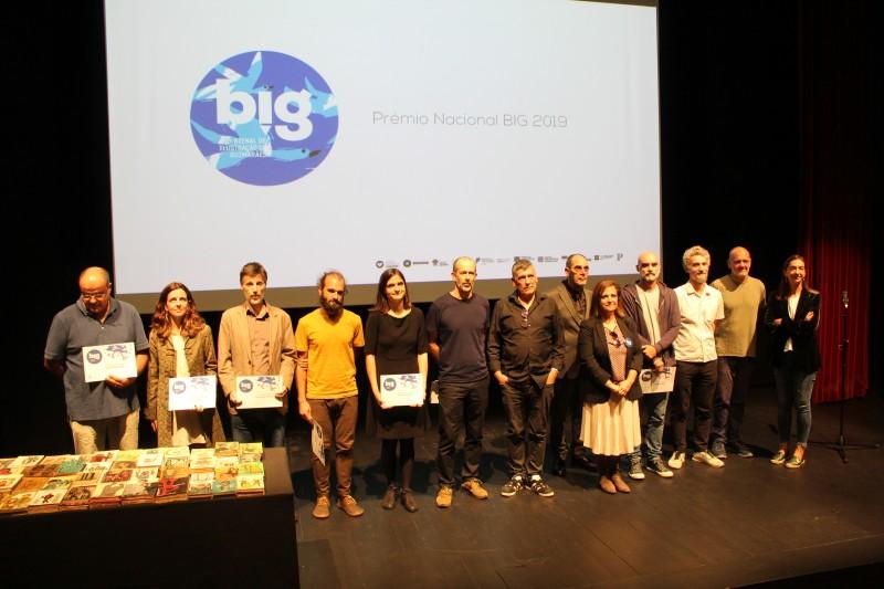 Vencedores do Prémio Nacional da Bienal de Ilustração de Guimarães 2019