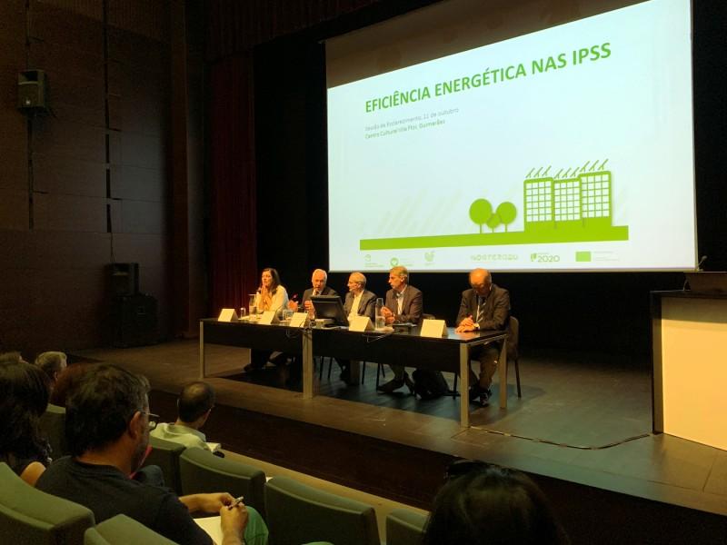 """""""A eficiência energética faz parte da nossa agenda ambiental"""", diz Domingos Bragança"""